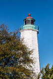 Old Point Comfort lighthouse in Hampton, Virginia Royalty Free Stock Photography