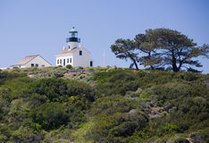 Old Point Loma Lighthouse Royalty Free Stock Images