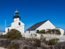 Old Point Loma Lighthouse Stock Photos