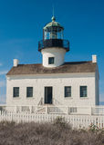 Old Point Loma Lighthouse royalty free stock image