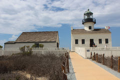 Old Point Loma Lighthouse Royalty Free Stock Photography