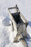 Old Polar bear trap Royalty Free Stock Images
