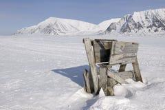 Old Polar bear trap Stock Images