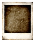 Old Polaroid. S film for background 2D computer art Stock Images
