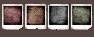 Old Polaroids Stock Photo
