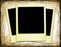 Old Polaroids (XXL) Royalty Free Stock Photos