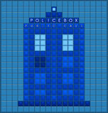 Old police box Royalty Free Stock Photos