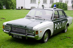 Old police car Stock Photo