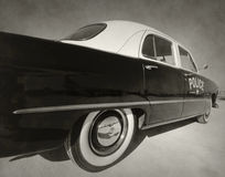 Old police car Royalty Free Stock Photography
