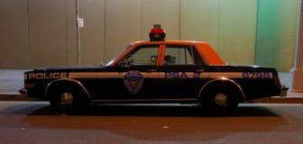 Old Police Car in New York City Stock Image