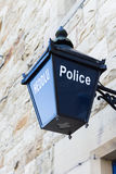 Old Police Lantern Stock Photos