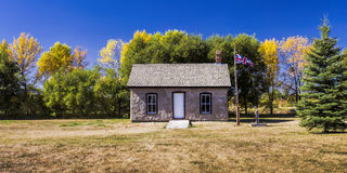 Old Police Outpost Royalty Free Stock Photo