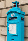 Old Police Public Call Post in the City of London Stock Photo