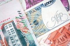 Old Polish banknotes Royalty Free Stock Photo