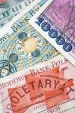 Old Polish banknotes Stock Photo