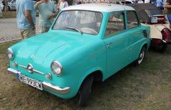 Old Polish car, Mikrus. Old restored beauty Polish car, WSK Mikrus MR-300 Stock Images