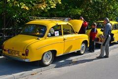 Old Polish car Royalty Free Stock Images
