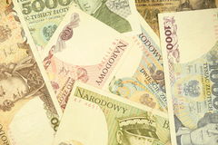Old polish cash Royalty Free Stock Image