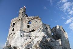 Old polish castle stock photography
