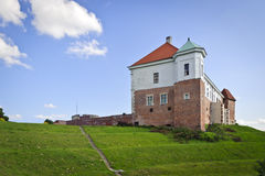 Old Polish Kings castle in Sandomierz, Poland Stock Photo