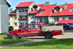 Old Polish Polonez truck Royalty Free Stock Image