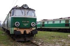 Old Polish trains Stock Photos