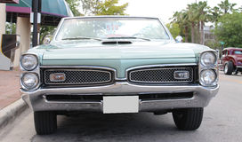 Old Pontiac GTO Car Royalty Free Stock Image