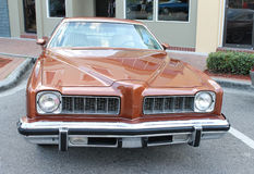 Old Pontiac LeMans Car Stock Photo