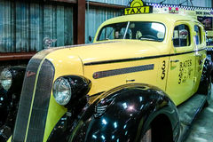 Old Pontiac Taxi Stock Images