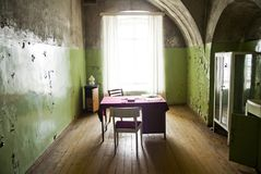 Old poor room interior Royalty Free Stock Photo