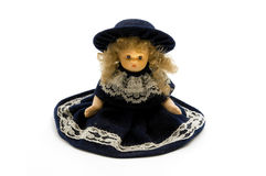 Old porcelain doll Royalty Free Stock Image