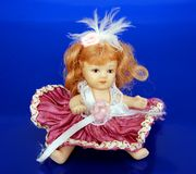 Old Porcelain Doll Stock Images