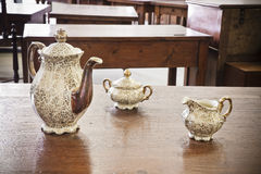 Old porcelain Stock Photo