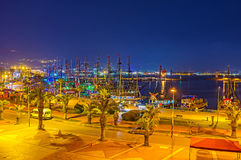 The old port of Alanya Stock Images