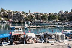 The Old Port of Antalya royalty free stock photos