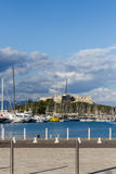 Old Port of Antibes Royalty Free Stock Images