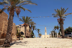 Old port city of Jaffa in Tel Aviv, Israel. Stock Images