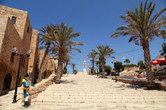 The old port city of Jaffa in Tel Aviv, Israel. Royalty Free Stock Photos