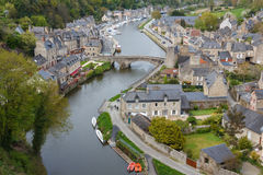 Old port of Dinan Royalty Free Stock Photography