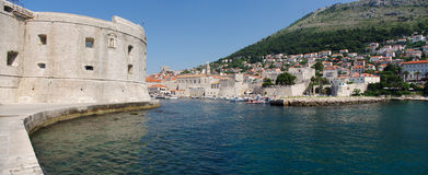 Old port of Dubrovnik Stock Images