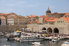 Old port. Dubrovnik. Croatia Royalty Free Stock Photography