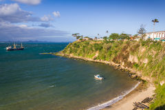 The old port of Fort Dauphin Royalty Free Stock Image