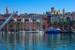 Old port, Genoa Royalty Free Stock Photos