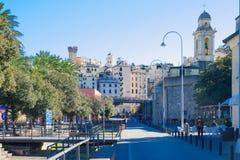 Old port, Genoa Stock Image