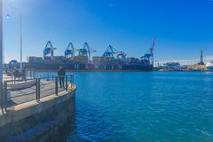 Old port, Genoa Royalty Free Stock Image