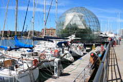 Old Port of Genoa. Royalty Free Stock Images