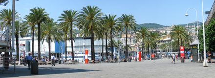 Old Port of Genoa Royalty Free Stock Image