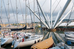 Old port in Genova Royalty Free Stock Photography