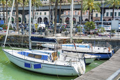 Old port  in Genova , Italy Royalty Free Stock Photos