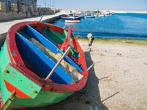 The old port of Giovinazzo. Apulia. Royalty Free Stock Photos